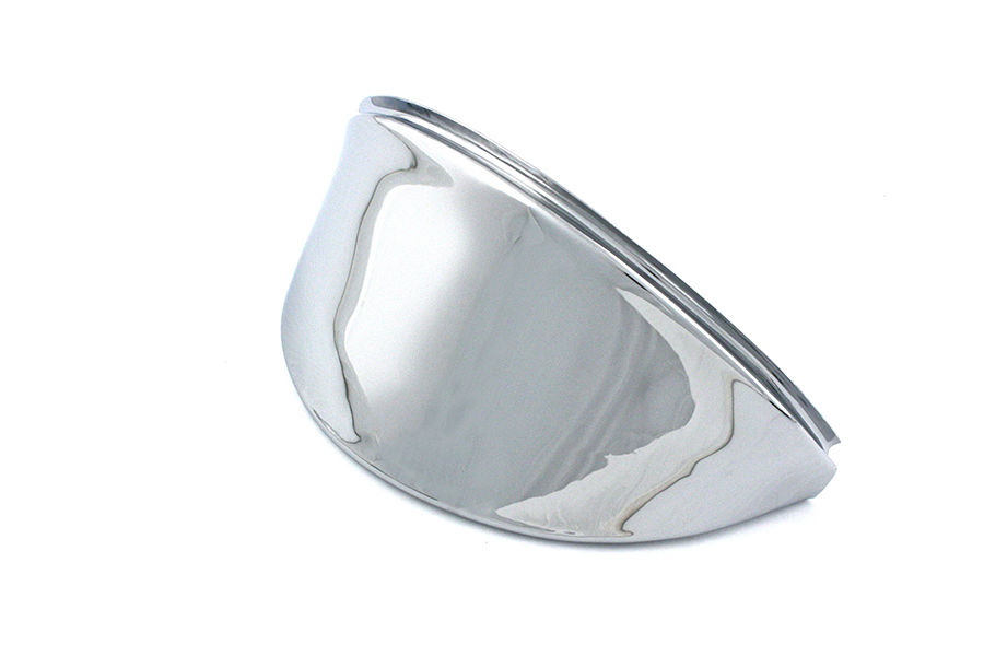 "7"" Headlamp Visor Chrome"