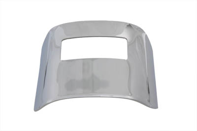 Chrome Tail Lamp Visor Smooth