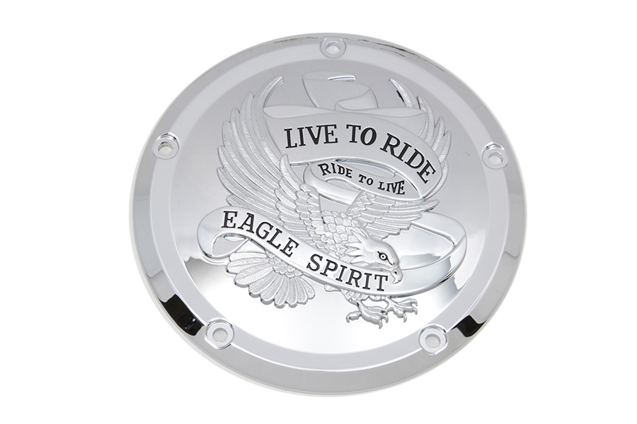 VTwin Eagle Spirit 5 Hole Derby Cover Kit 2016-2020 Harley Touring Softail FLT