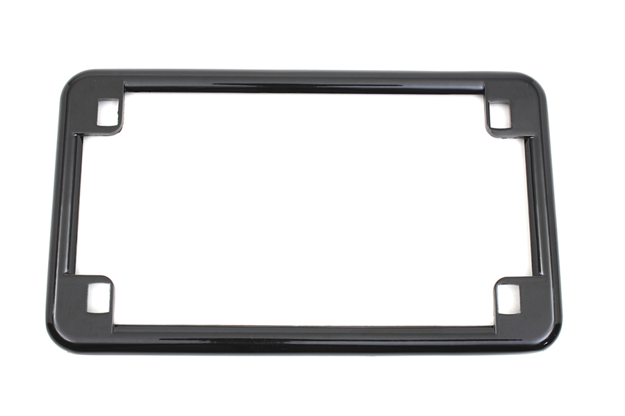 License Plate Frame Black