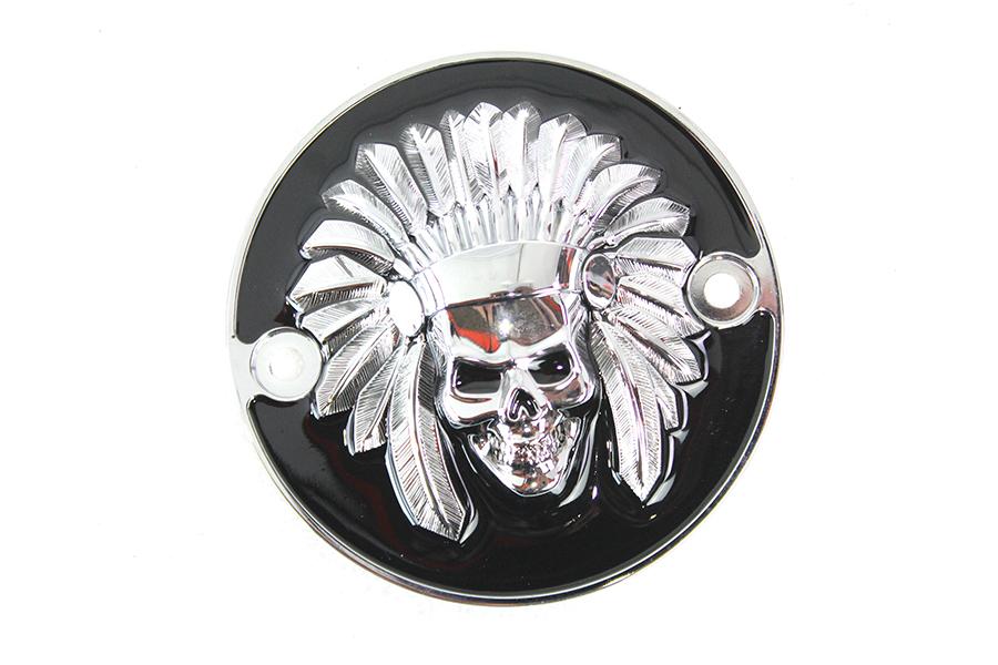 Indian Skull Point Cover Black