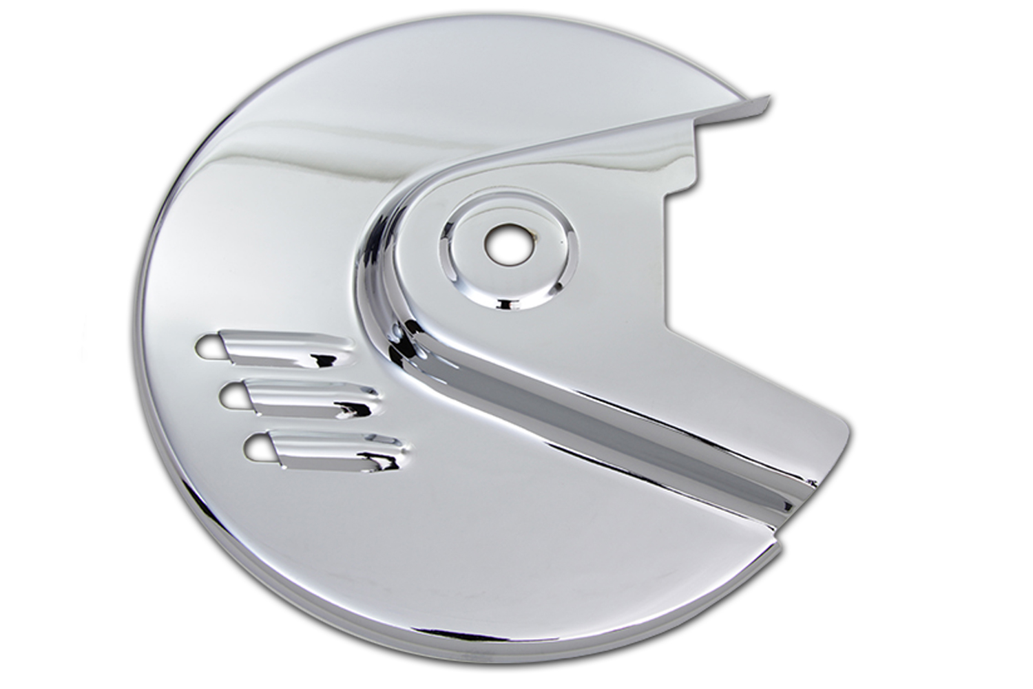 Chrome Rear Brake Disc Cover