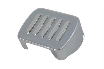 *UPDATE Louvered Chrome Coil Cover