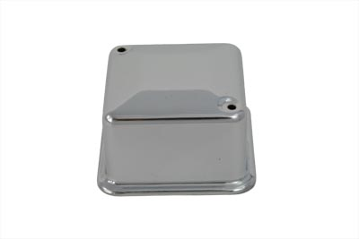 Chrome 6 Volt Delco Type 3-Brush Regulator Cover