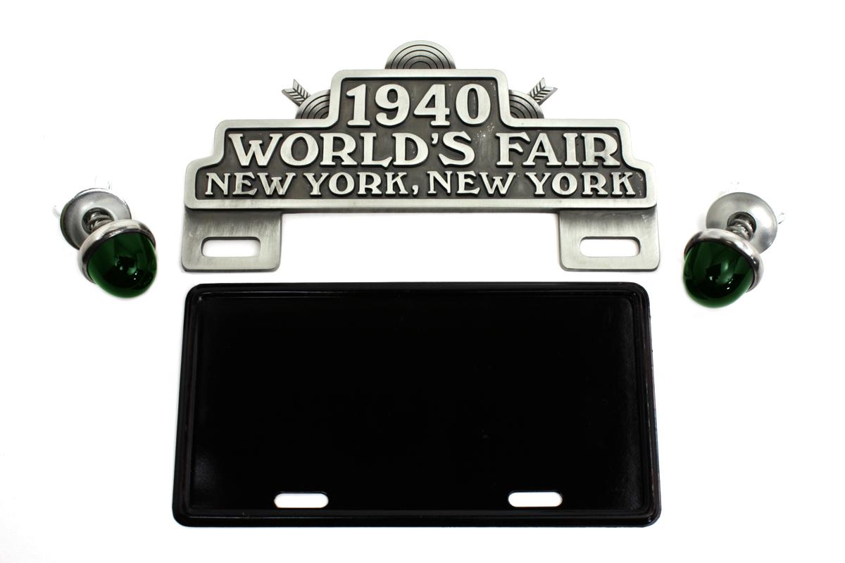 World's Fair License Plate Topper Kit
