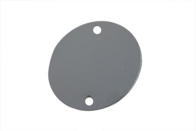 Chrome Flat Ignition System Cover
