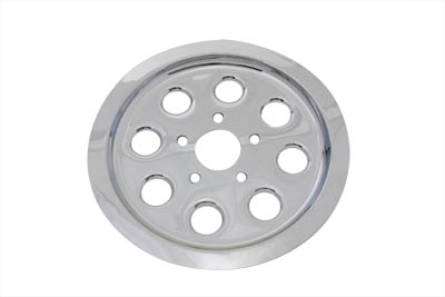 Rear Pulley Cover 61 Tooth Chrome