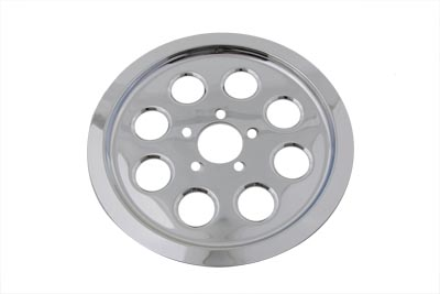 Outer Pulley Cover 70 Tooth Chrome