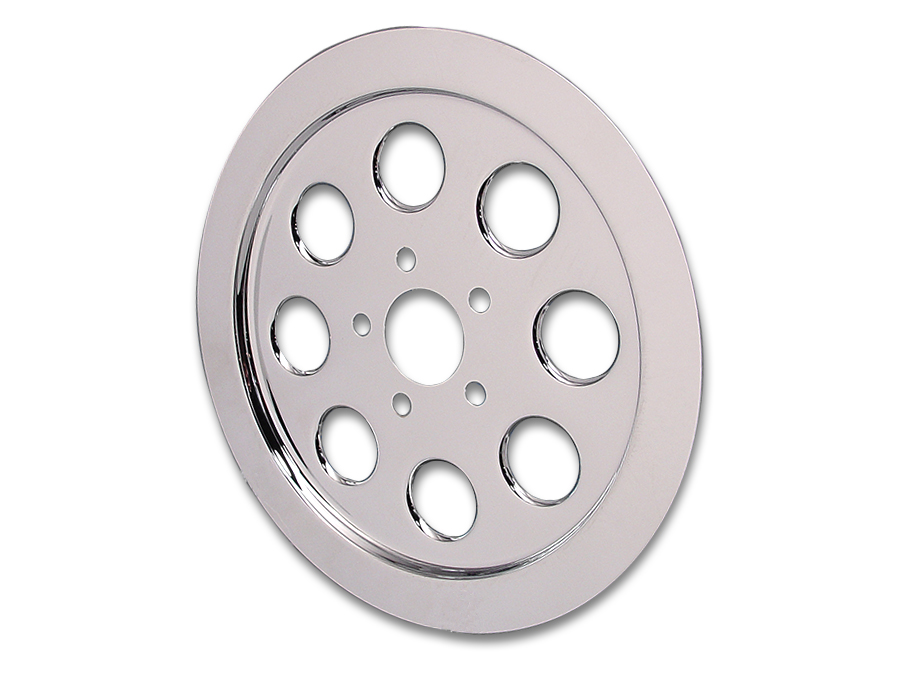 Inner Pulley Cover 70 Tooth Chrome