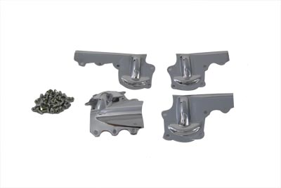 Replica Rocker Arm Cover Set Chrome