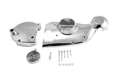 Chrome Cam and Sprocket Cover Kit
