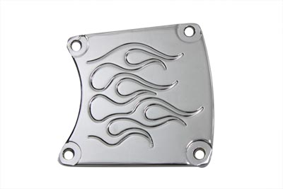 Flame Inspection Cover Chrome