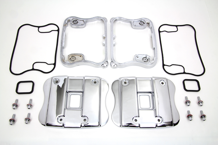 *UPDATE Top Rocker Box Cover and D-Ring Kit Chrome
