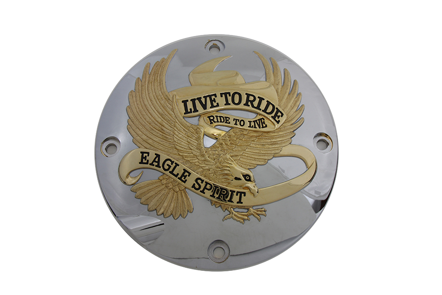 *UPDATE Gold Clutch Inspection Cover Chrome