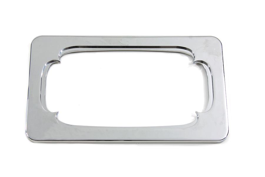 License Plate Frame Thorn Style Chrome Billet