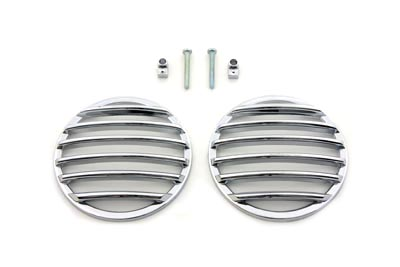 Turn Signal Lens Grille Set Chrome