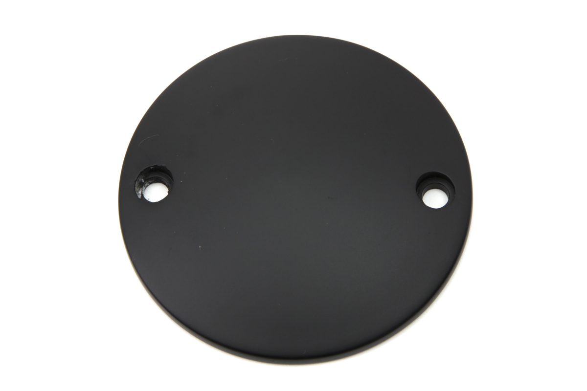 Black Smooth Domed Ignition System Cover