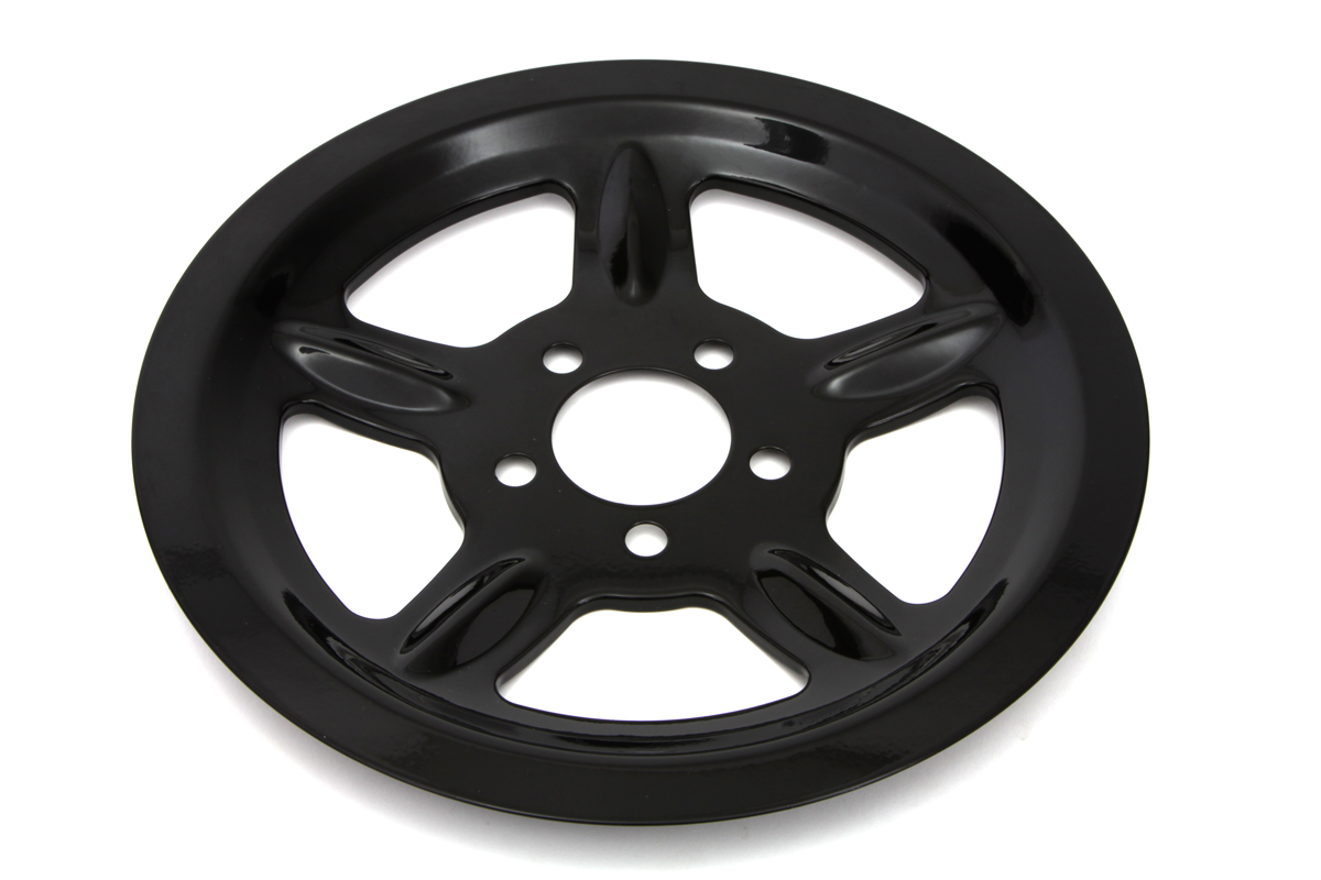 Black Rear Pulley Cover 68 Tooth