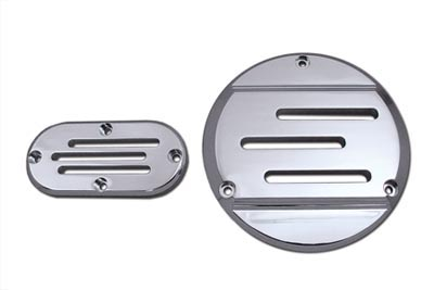 Vented Derby and Inspection Cover Kit Billet