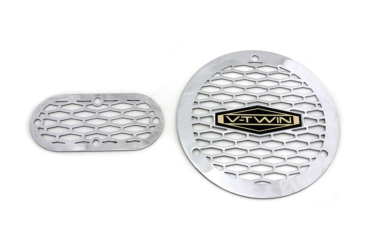 Vented V-Twin Derby and Inspection Cover Kit