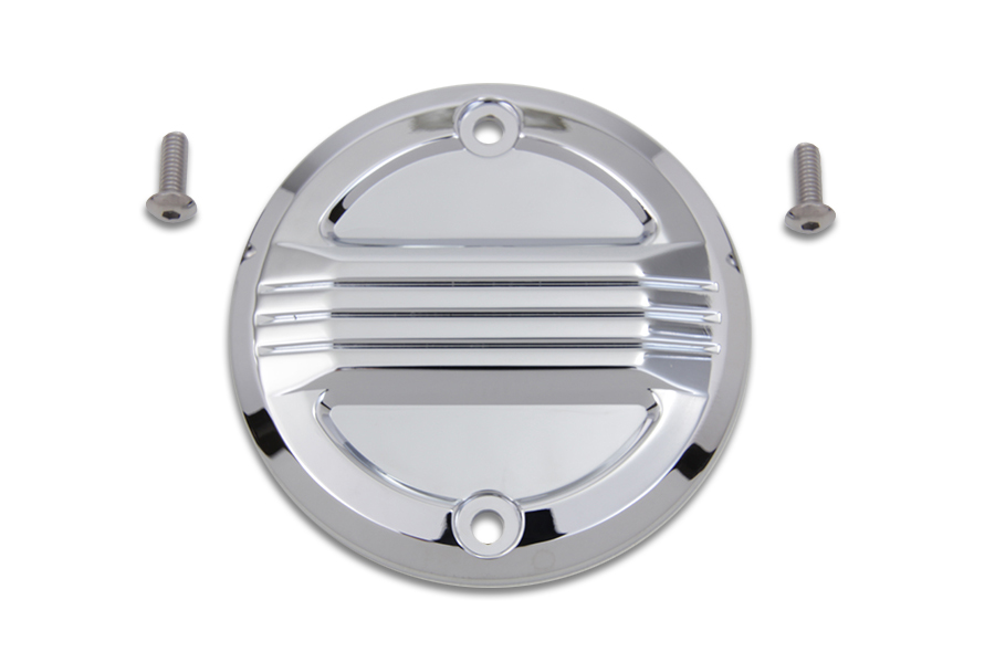 Chrome Air Flow Ignition System Cover