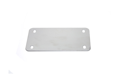 License Plate Holder Chrome