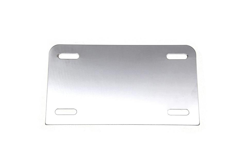 License Plate Frame Backing Plate Chrome