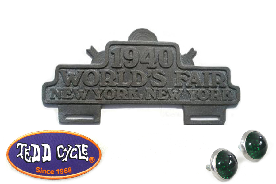 World's Fair License Plate Topper Kit