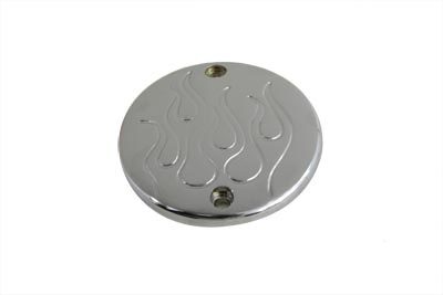 Chrome Flame Ignition System Cover