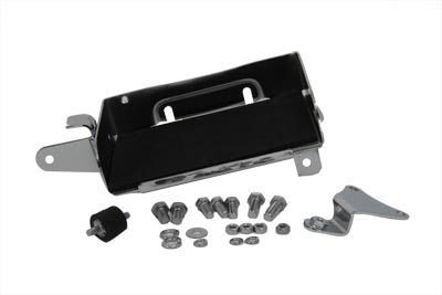 Chrome Battery Carrier Kit