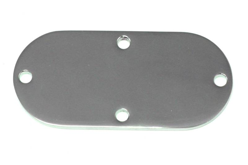 Oval Inspection Cover Chrome