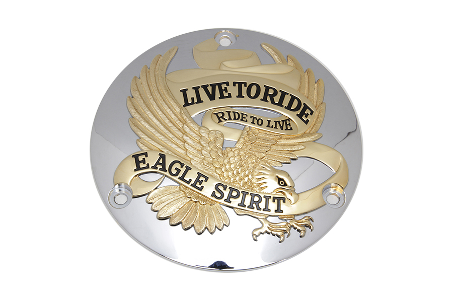 Eagle Spirit Derby Cover Gold Inlay