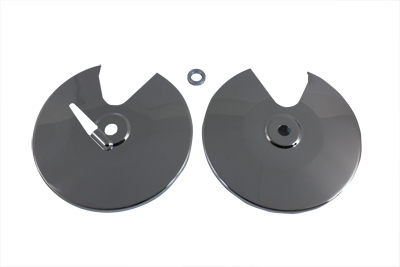 *UPDATE Chrome Front Brake Disc Cover