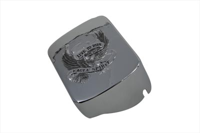 Chrome Eagle Spirit Coil Cover