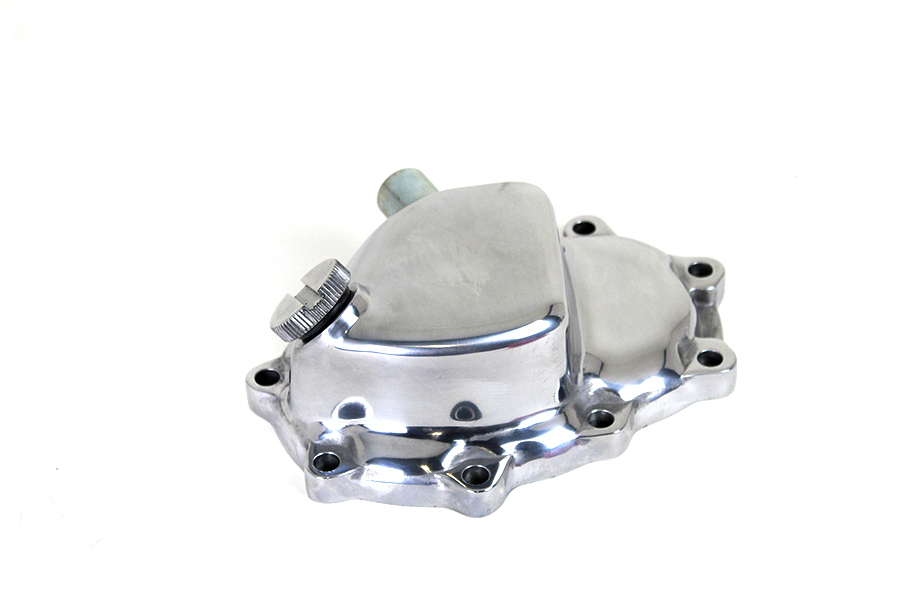 Polished Transmission End Cover for Electric Start
