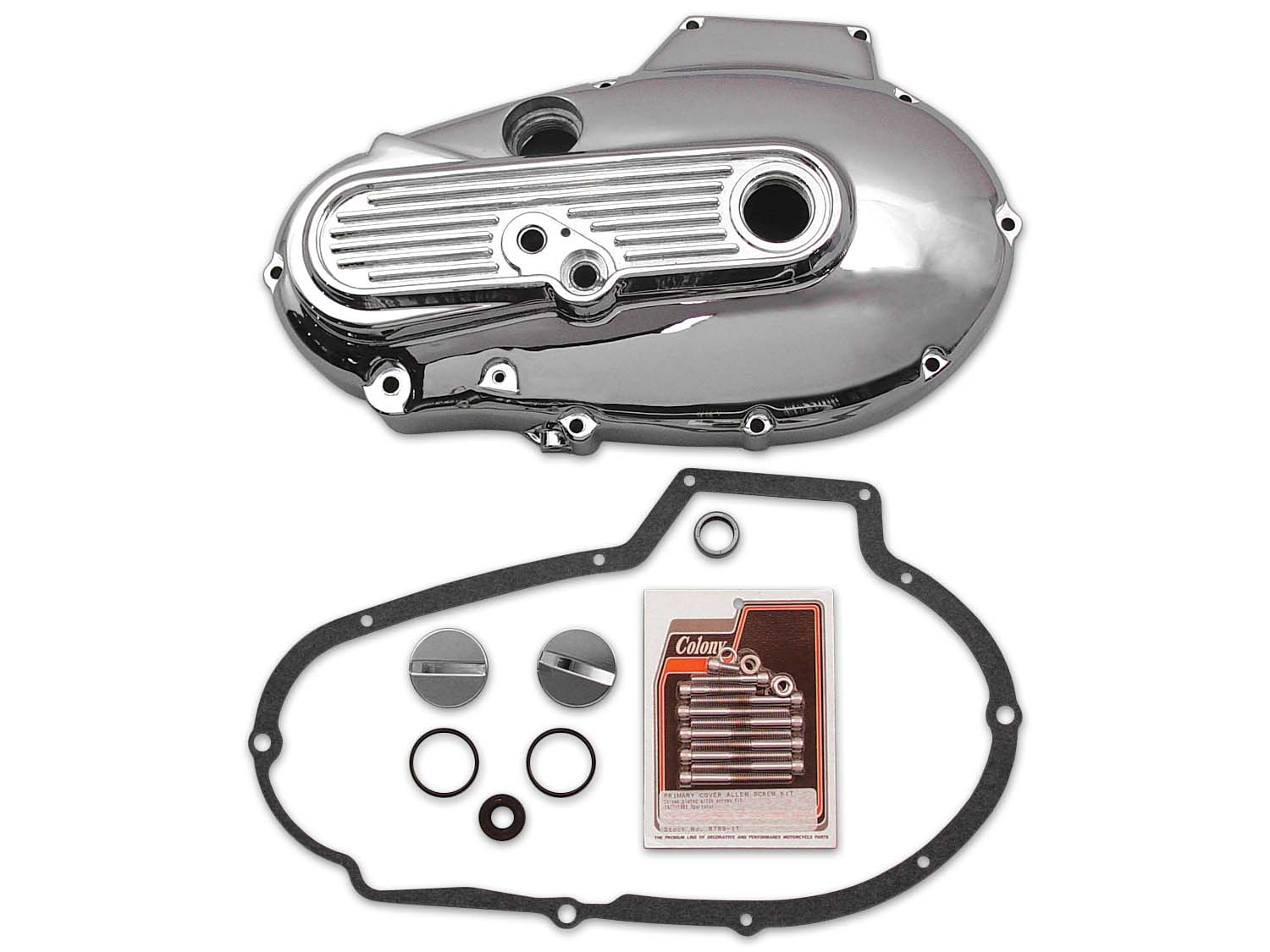Alternator Chrome Primary Cover Kit