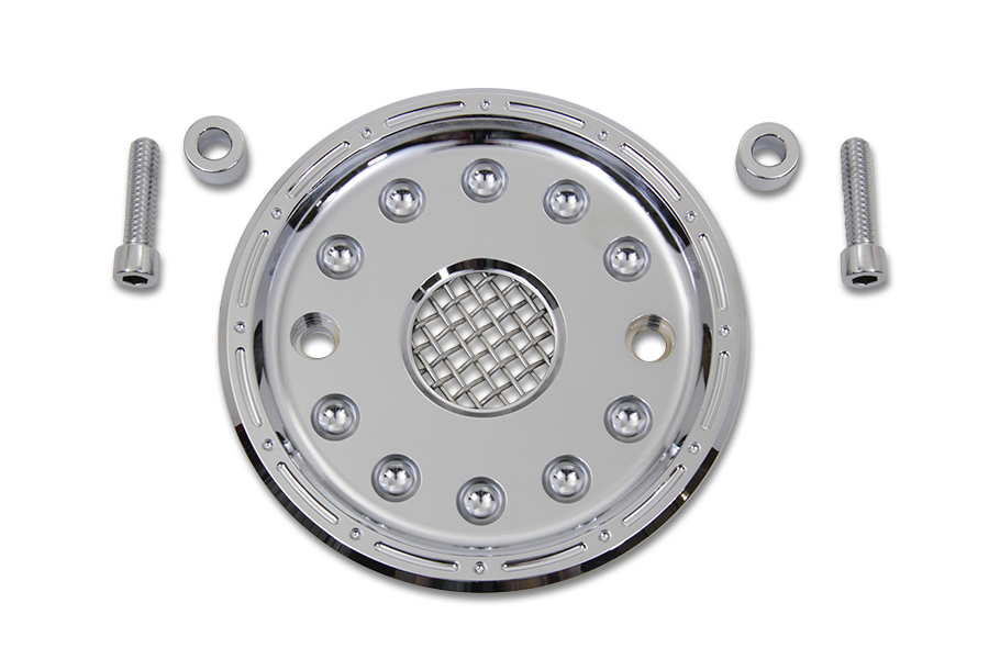 Outlaw Chrome Pulley Cover Kit