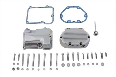 Transmission Side Cover and Top Cover Set Chrome