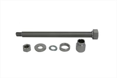 Chrome Rear Axle Kit