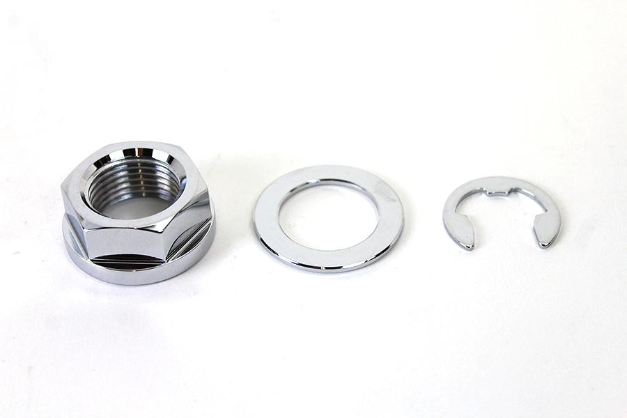 Rear Axle Nut Kit Zinc