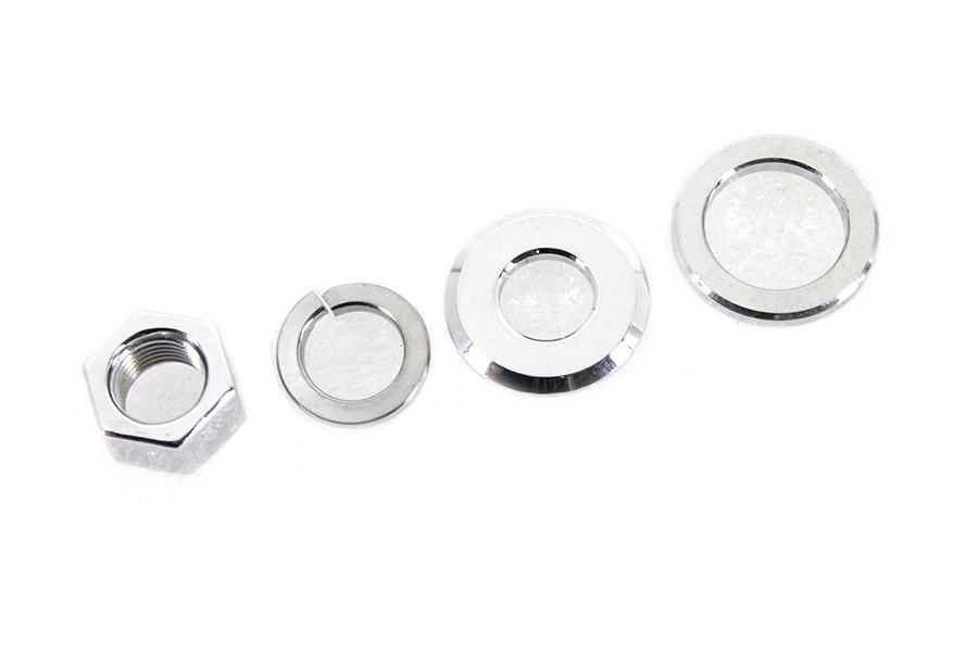 Zinc Rear Axle Nut Kit