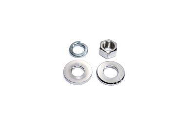 Chrome Rear Axle Nut Kit