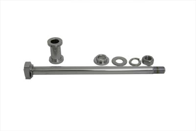 XL Chrome Rear Axle Kit