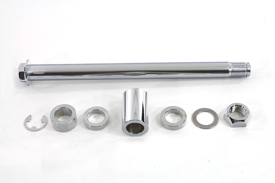 Chrome Rear Axle Kit