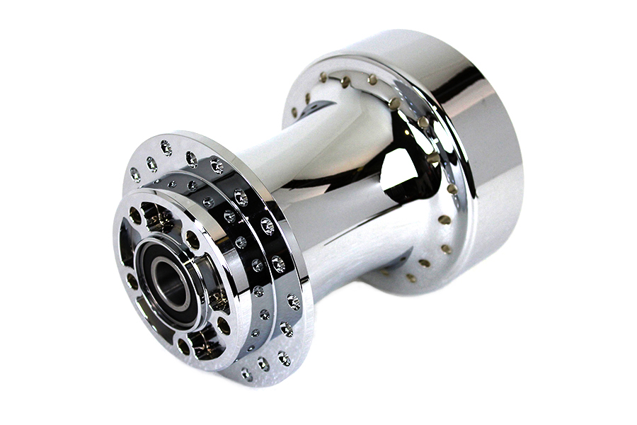 Chrome Wheel Hub 25mm Bearings