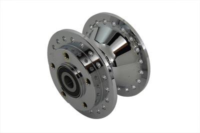 "Chrome Front Wheel Hub 3/4"" Bearings"