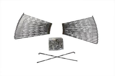 """*UPDATE Stainless Steel 21"""" Spoke Set Twirled Type Buchanan"""