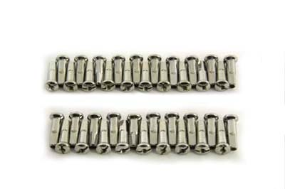 Spoke 40 Piece Stainless Steel Nipple Set