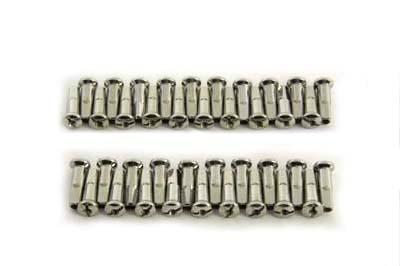Spoke 40 Piece Stainless Steel Nipple Set