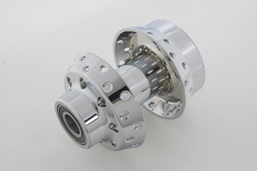 Chrome Front Wheel Hub with 25mm Bearings